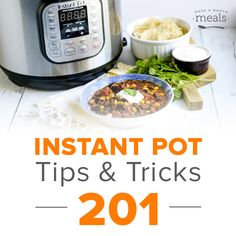 MUST READ!!!!  MANY HELPFUL THINGS!  Instant Pot Tips & Tricks 201 - FB