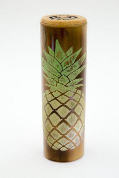 Shift Knob, Golden Pineapple Capped BAM SHIFT by BamShifts on Etsy