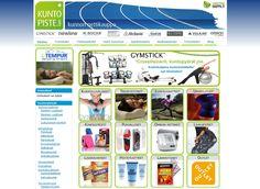Kuntopiste.comin verkkokauppa myy liikunta-, terveys- sekä hyvinvointituotteita ja on käyttänyt Kotisivukoneen palveluita kohta jo kuuden vuoden ajan.
