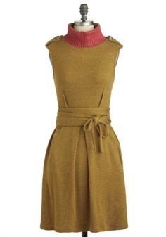 You Only Olive Once Dress, #ModCloth $59