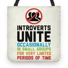 Este bolso oficial del Club de los introvertidos.   37 Regalos perfectos para todos los introvertidos que hay en tu vida