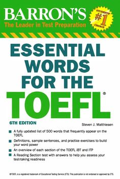 Free download barrons toefl ibt 12th edition ebook audio cd room barron essential words for the toefl fandeluxe Image collections