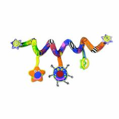 Whoozit Lights and Sound Spiral Toy Bar by Manhattan Toy. $21.95. From the Manufacturer                Young children gain new skills and talents almost overnight. During this phase of dynamic development, Manhattan Toy's research-proven Whoozit collection of toys stimulate fundamental learning skills The Whoozit lights and sound spiral plays twinkle, twinkle little star and features colorful blinking lights and engaging activities. Wraps around most carriers or stroller...