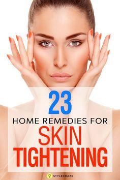 6 Homemade Skin Tightening Face Masks You Should Definitely Try #homemadefacemasksforwrinkles #skintightener