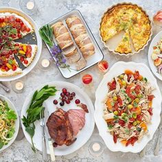 Festive Feast Served Buffet Style Styling A Buffet, Food Festival, The Dish, Great Recipes, Vegetarian Recipes, Festive, Menu, Dishes, Ethnic Recipes