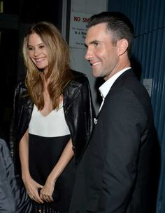 #BehatiPrinsloo and #AdamLevine attend 'The Night That Changed America: A Grammy Salute To The Beatles' at the #LosAngelesConventionCenter on Jan 27, 2014. See more Celebs Spotted at Los Angeles Convention Center! http://celebhotspots.com/hotspot/?hotspotid=5241&next=1