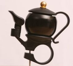 Teapot bike bell - Bike Belle, the bicycle boutique
