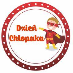 Dzień Chłopaka: odznaki – medale 1 Digital Stamps, Kids Education, Kids And Parenting, Quilling, Cardmaking, Kindergarten, Preschool, Family Guy, Symbols