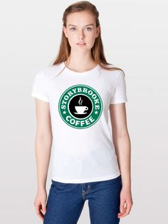 Storybrook Coffee T-Shirt. $20. OUAT, Once Upon A Time, ONCER, Storybrooke, Neverland, Wicked Witch.