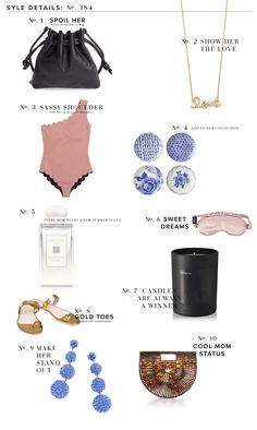 Style Details: Mother Day Gifts