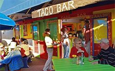 Bud and Alley's Taco Bar in Seaside