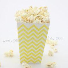 Yellow Chevron Paper Popcorn Boxes http://www.paperstrawssale.com/yellow-chevron-paper-popcorn-boxes-36pcs-p-1371.html