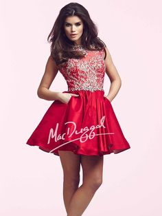 Homecoming by Mac Duggal Dress 82226N | Terry Costa Dallas
