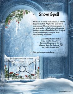 Spell to Bring Snow