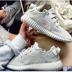 best loved 8f0dd 8a2ae Adidas Women Yeezy Boost Sneakers Running Sports Shoes Grey Clothing, Shoes  amp Jewelry