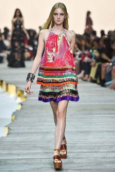 Roberto Cavalli Spring 2015 Ready-to-Wear Fashion Show - Lexi Boling