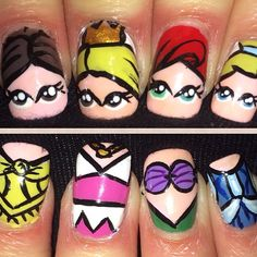 Princess #manicure