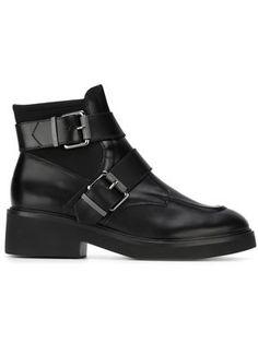 'Nikko' buckled boots