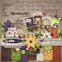 I Love You  THIS MUCH! Mini Add-On Kit by Fayette Designs