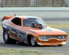 Plymouth Satellite funny car