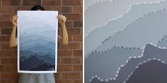 2013 Mountain Calendar by Pam Lostracco at Etsy