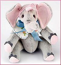 Elephant softie pattern