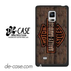 Harley Davidson On Wood DEAL-5051 Samsung Phonecase Cover For Samsung Galaxy Note Edge