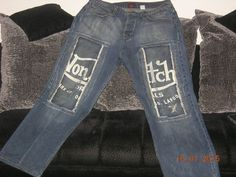 MEN VON DUTCH JEANS 38/32 #BootCut