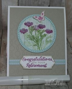 Stampin' Up! Wild About Flowers - LW Designs