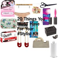 """""""20 Things You MUST Have In Your #Stylist Kit"""" by sdixon2523 on Polyvore"""