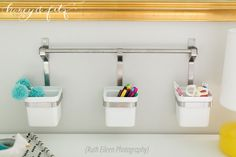 Project Nursery - Honey-and-Fitz-Taylor's-Room-Desk-Cups