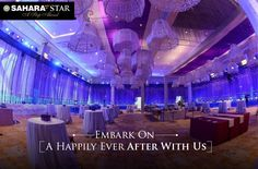 Describe your dream #wedding to our expert team at #SaharaStar, and we promise to turn it into reality! #SaharaSapphire #Mumbai