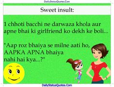 Sweet insult status  Daily Status Quotes