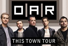 OAR at Meadowbrook, summer, 2010, 4th row, tickets were a birthday gift from Re.