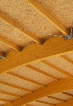 THERMOCHIP® TOH, el panel sándwich con partículas de madera OSB | #panel #techo #madera #interior #design #deco