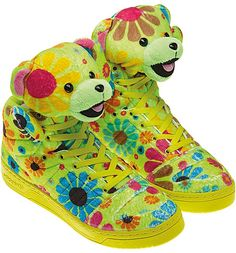 adidas OBYO JEREMY SCOTT TEDDY BEAR [FLOWER POWER] G61076