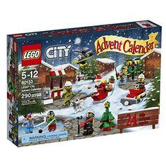 LEGO City Town 60133 Advent Calendar Building Kit (290 Piece) See Now Ellens Cassette and Video Corner