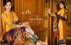 Asim Jofa Luxury Eid Dresses Collection For Women Pakistani Outfits, Indian Outfits, Ethnic Suit, Collections Catalog, Eid Dresses, Eid Collection, Asian Fashion, Dress Brands, Get Dressed