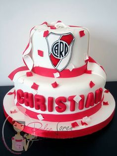 #RiverPlate #river #millonarioporsiempre #escudo #torta #papelitos #fanaticos #bandera #tortaspersonalizadas #dulceloren