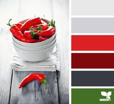 peppered palette