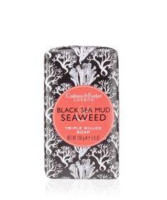 Heritage Black Sea Mud & Seaweed Soap 158g | Crabtree & Evelyn