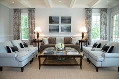 34 Cozy Family Rooms with Plush Upholstery