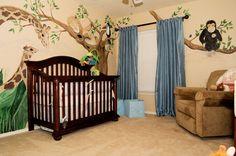 Baby Boy Nursery Ideas You Will Need : Beautiful Zoo Themed Baby Nursery Design Ideas