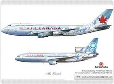 Air Canada Livery concept | Air Canada / Boeing 747 400 / Go… | Flickr