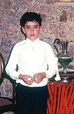 Renato aos 11 anos na 1° comunhão (Google+)
