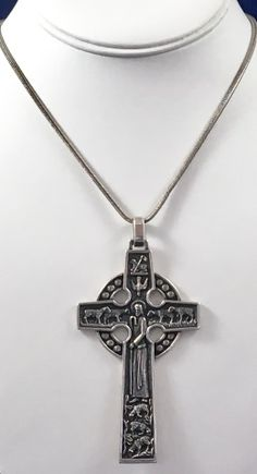James avery retired sterling silver large cross pendant pre owned james avery retired sterling silver large cross pendant pre owned diy jewelry pinterest james avery sterling silver and pendants aloadofball Gallery