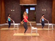 Total Body Barre Workout To Tone Your Legs - YouTube