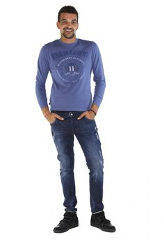 BLAUER- www.assuntasimeone.com  T-SHIRT IN COTONE BLAUER  100% Cotone  spedizione gratuita assicurazione gratuita reso gratuito  CLICCA SUL LINK PER ACQUISTARE IL PRODOTTO: http://www.assuntasimeone.com/it/shop/nuove-collezioni-inverno-t-shirt/2823/t-shirt-in-cotone-blauer.html