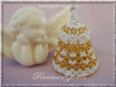 Campanella oro e bianco - Ricamar Gioielli