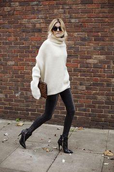 vestirsi di bianco in inverno